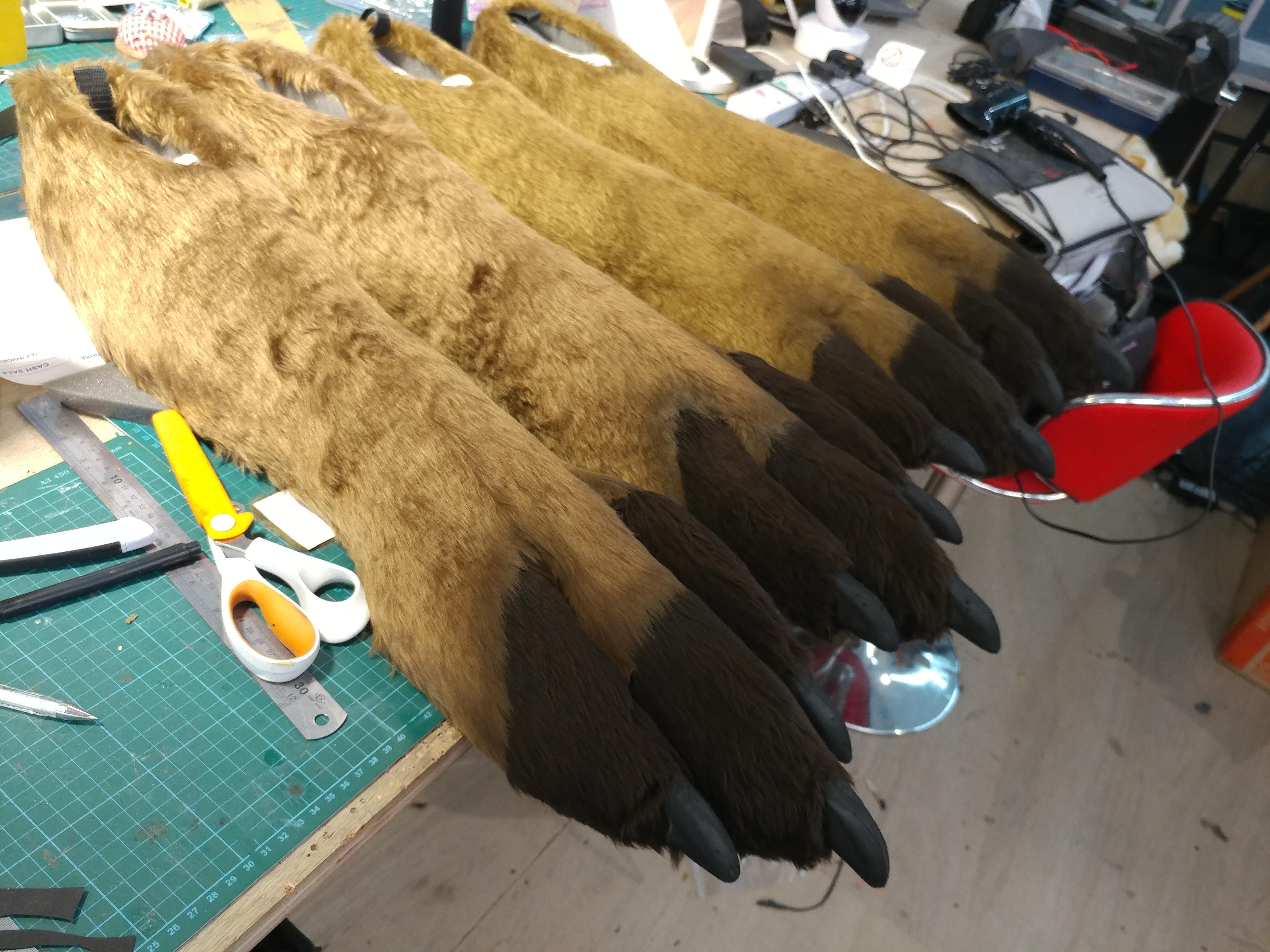 Fur Clad Feet