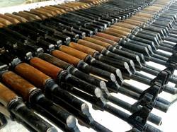 AK-47 all in a row