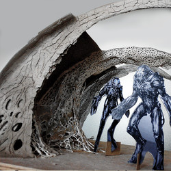 Miniature Alien Corridor