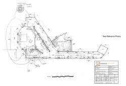 Plan Drawing of Hotel