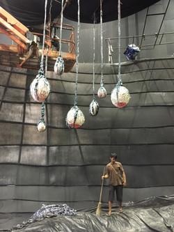 Giant Alien Eggs