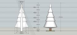 SketchUp Model of Tree