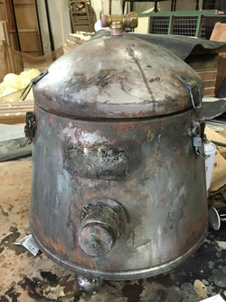 Aging Pot with Paint