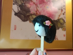 A Pink Rose Hairband