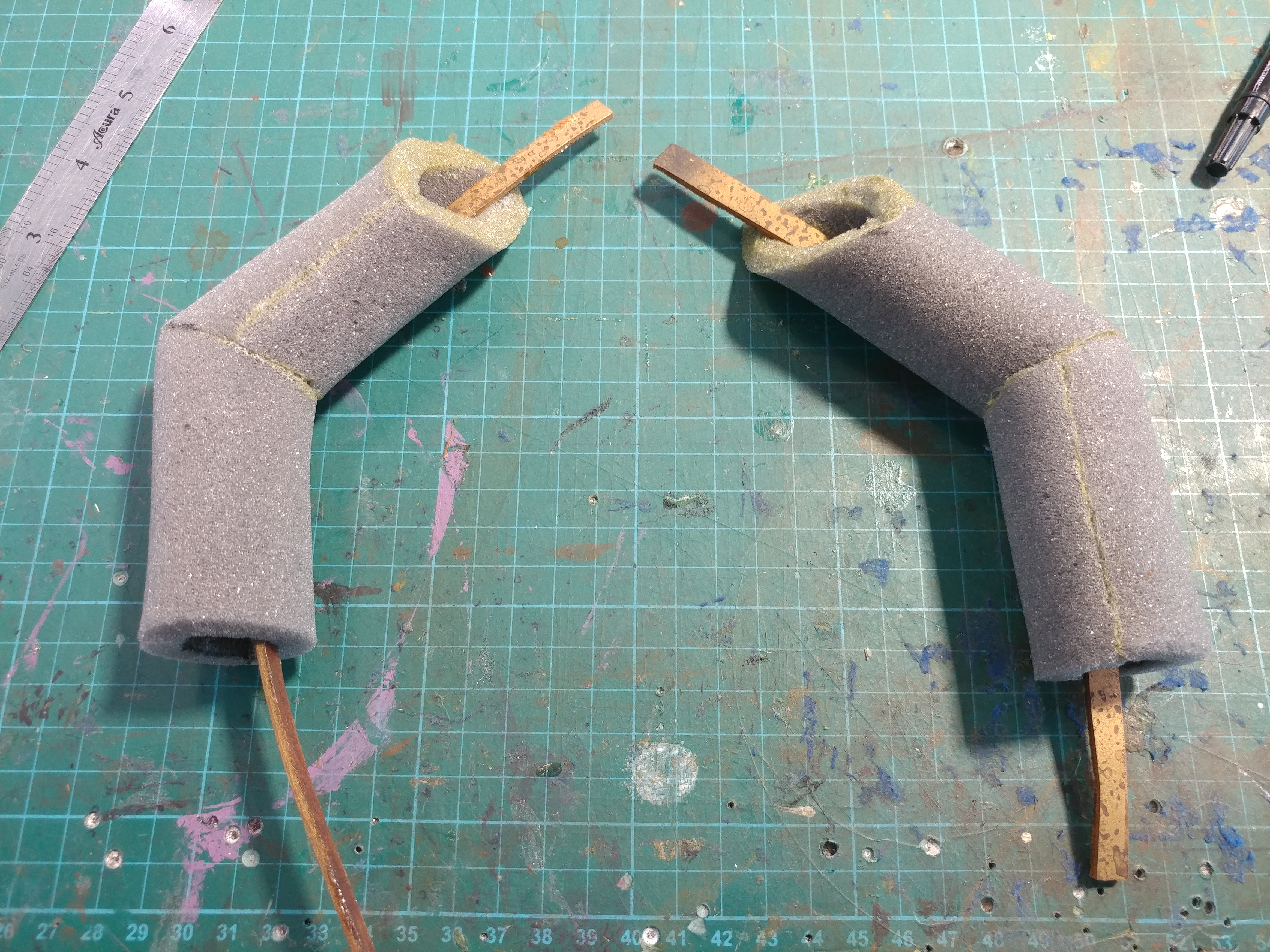 Pythor's Arms in the Making