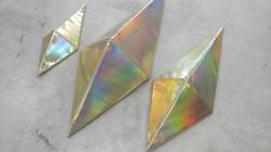 Holographic Golden Prisms