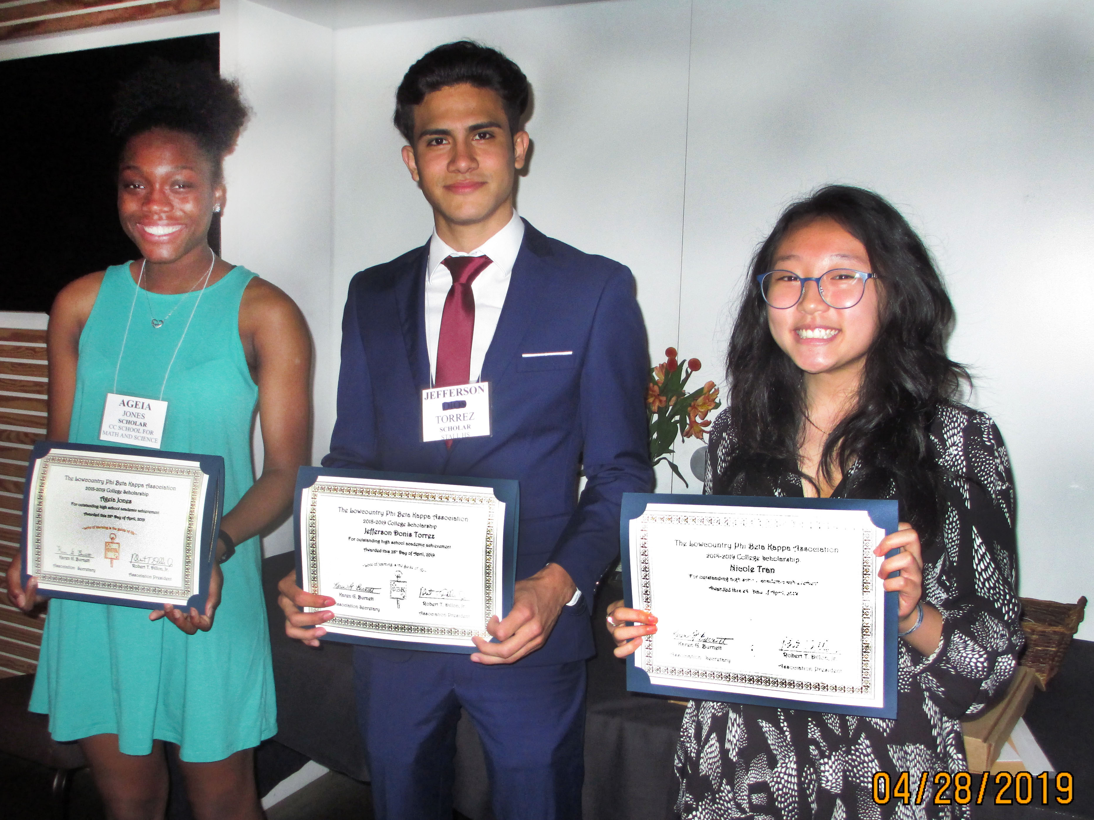 Our 2019 Scholarship Winners