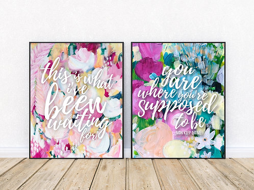 Positive Mantra Prints