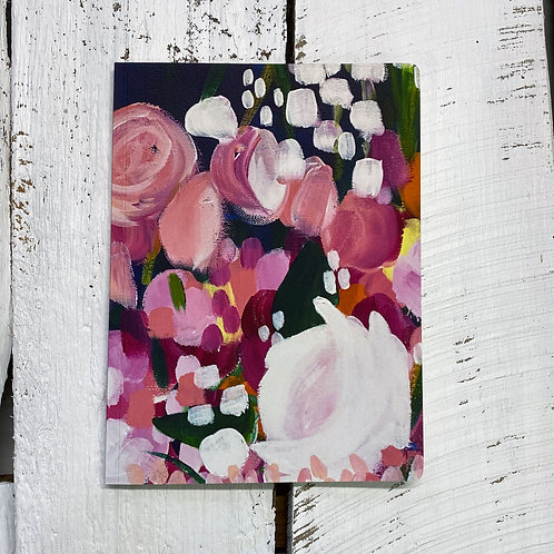 Floral Notebook - Deep Breath