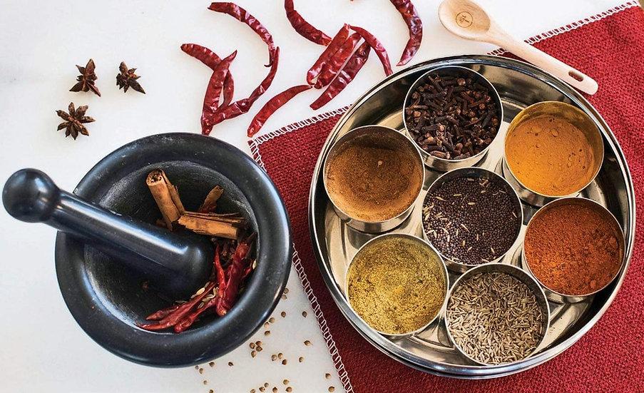 Premium Masala Dabba (including whole Spices)