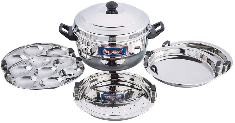 Stainless Steel Idly Cooker