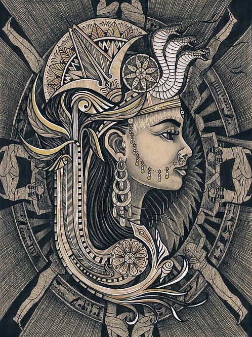 Kemetic Woman of Dendera