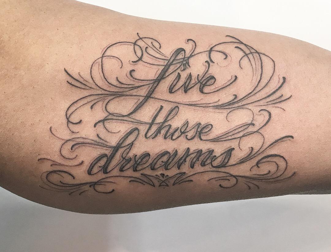 Live those dreams