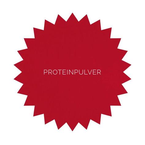 Vælg enten mellem valleprotein eller sojaprotein