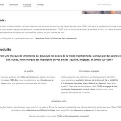 Création de contenu éditorial FONP