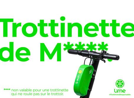 Case study Lime : l'insolence, nouvel atout marketing ?