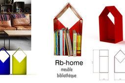 Rb-home meuble livres _ Justine Jourdain _ design produit _ designer