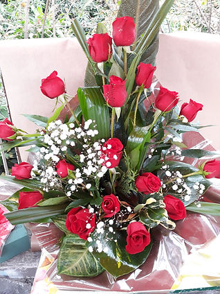 l'ile aux fleurs - bouquet roses