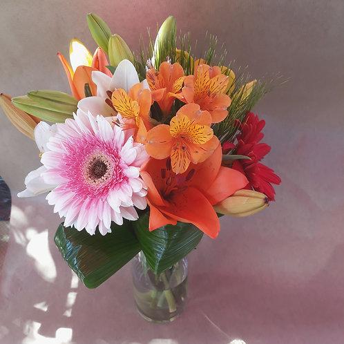 Composition avec vase