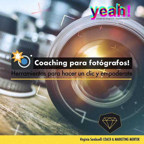 Coaching para Fotógrafos - Taller Online