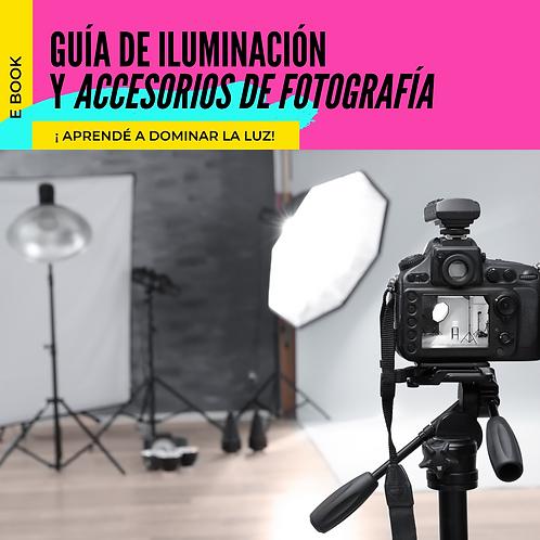 Guía de Iluminación y Accesorios de Fotografía