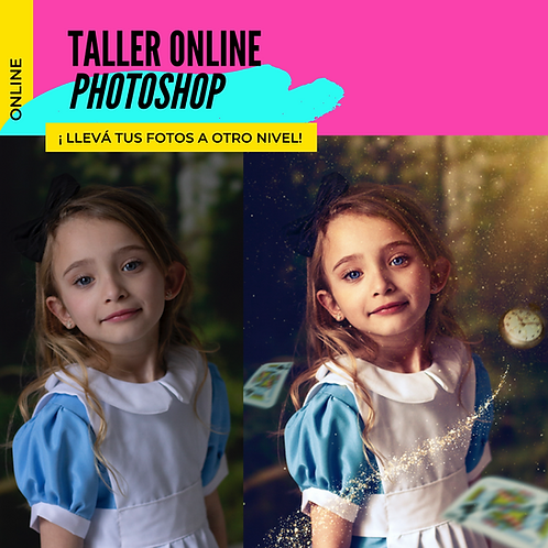 Photoshop Online  - Nivel II - Retoque