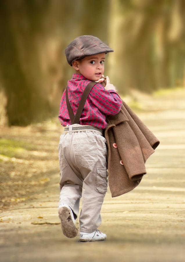 Fotografía infantil en Exteriores.