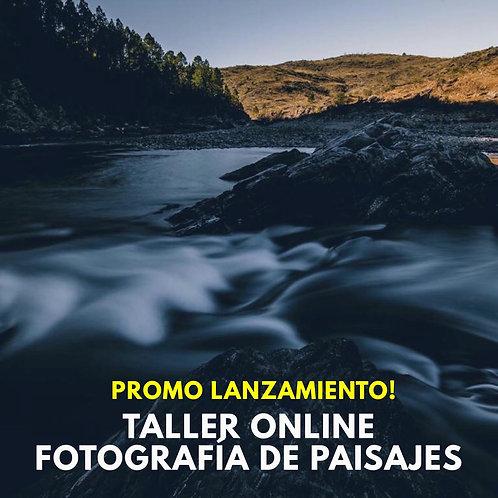 Taller Online de Fotografía de Paisajes