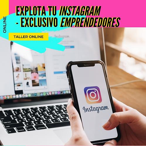 Aprendé a vender en Instagram - Exclusivo EMPRENDEDORES