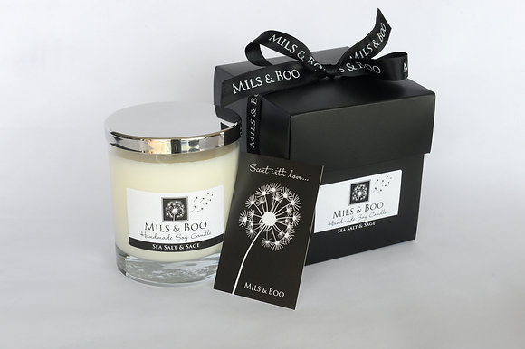 Sea Salt and Sage Luxury Jar Gift Boxed