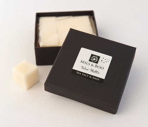 Sea Salt and Sage Scented Soy Wax Melts