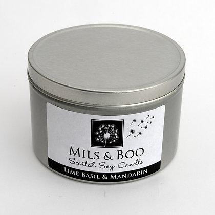 Lime Basil & Mandarin Small Tin 100g