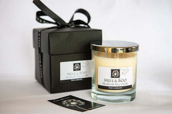 The Library Luxury Jar Gift Boxed