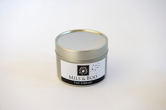 The Library Small Candle Tin 100g