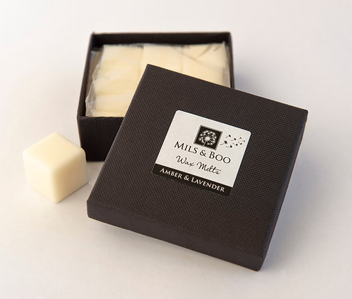 Amber and Lavender Scented Soy Wax Melts