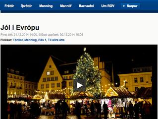 아이슬란드 국영 방송 RUV 에 소개된 퓨전 국악 밴드 쵸콜릿