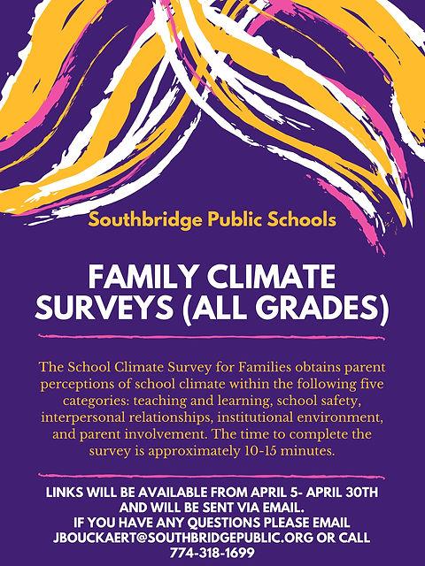 ENGApril 2021 Climate Survey Poster for