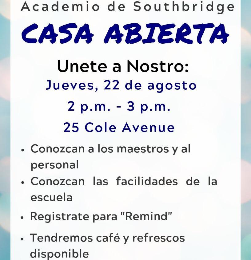 ESP SA open house 08.22.19