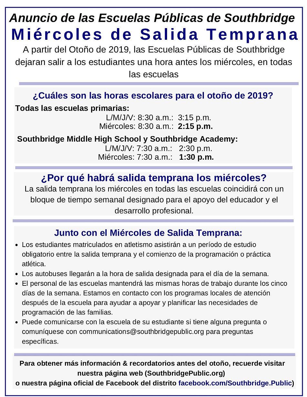 Wednesday_Early_Release_En_Español_08.27