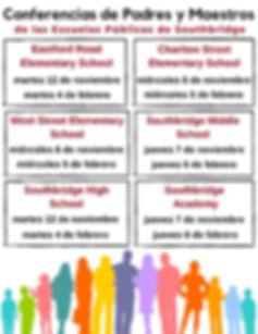 ESP Parent Teacher Conference Dates SY19