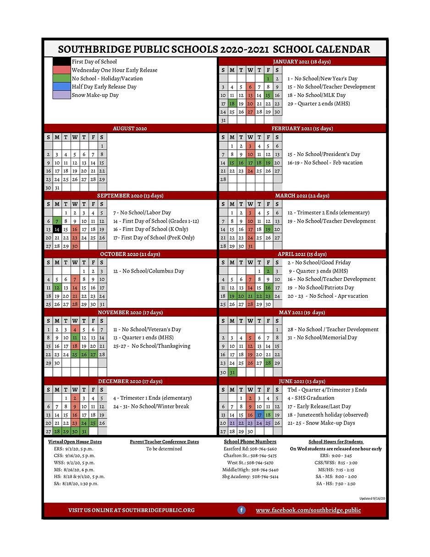ENG SPS 2020 - 2021 Family Calendar Upda