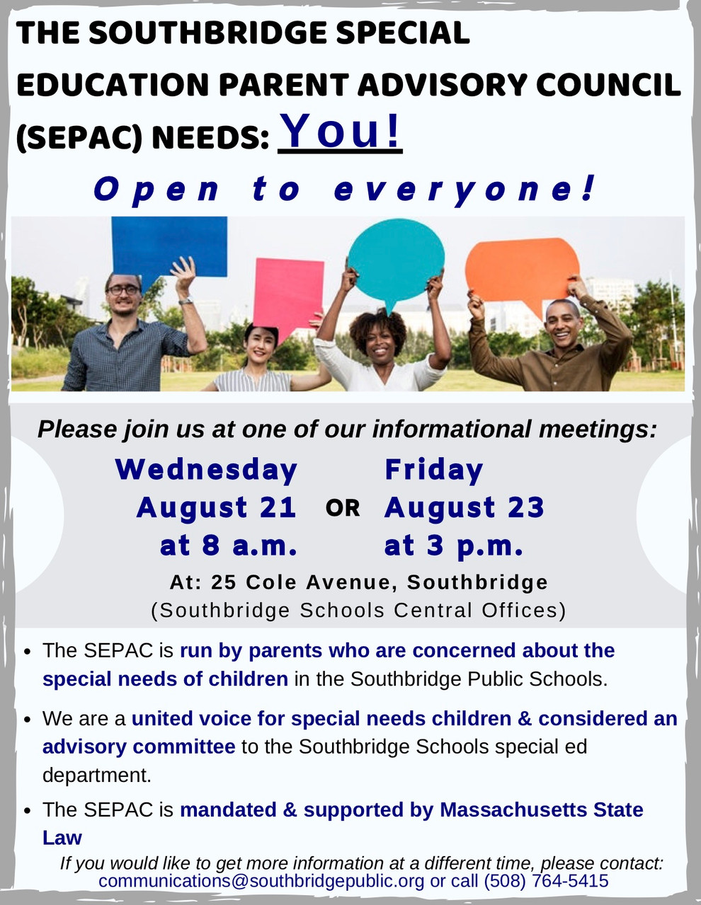 ENG SEPAC Flyer Aug 2019