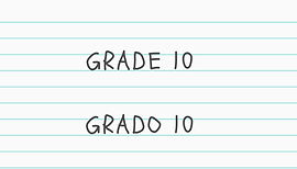 Grade 10 educational packet click here