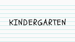 Click here for Kindergarten educational packet.