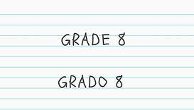 Grade 8 educationa packet click here