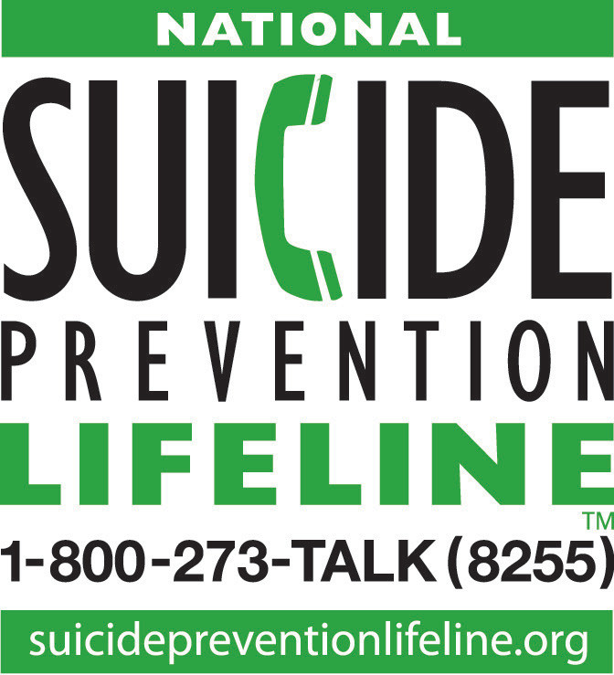 Logo of the National Suicide Line in English