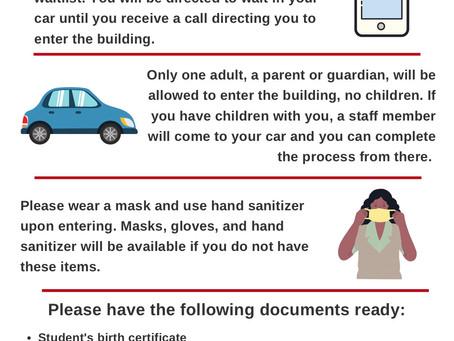 Kindergarten Registration Form (Formulario de Inscripción para Kindergarten)