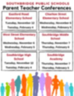 Parent Teacher Conference Dates SY1920.j