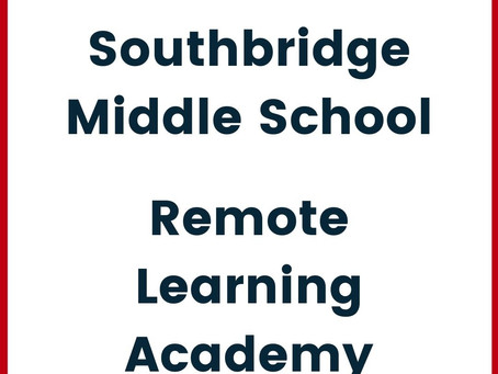 A letter from Middle School Principal House for Remote Learners (In English y en Español)