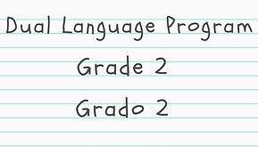 Grade 2 Dual Langage material click here